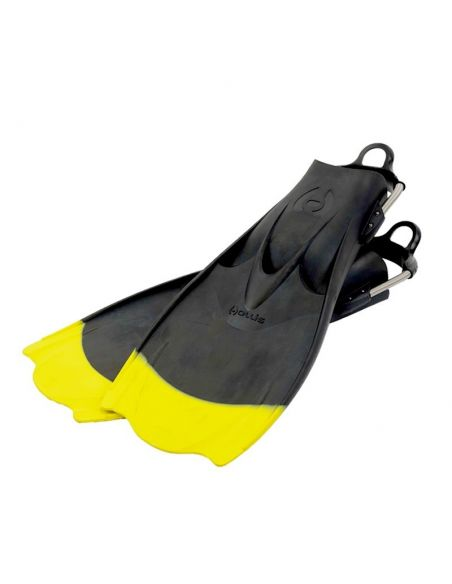 "Hollis F1 ""BAT FIN"" Yellow Tip fins"
