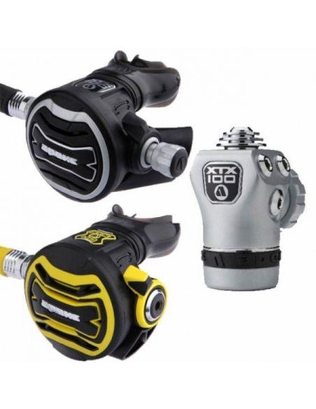 Apeks 3 XTX 100 DIN + XTX 40 Octopus