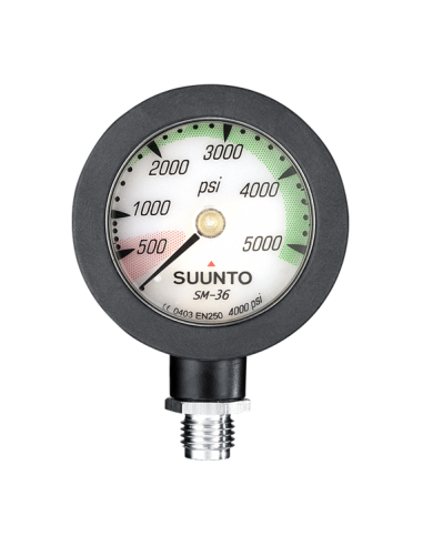 Suunto SM-36 Tank Pressure Gauge 4000 PSI (with hose)