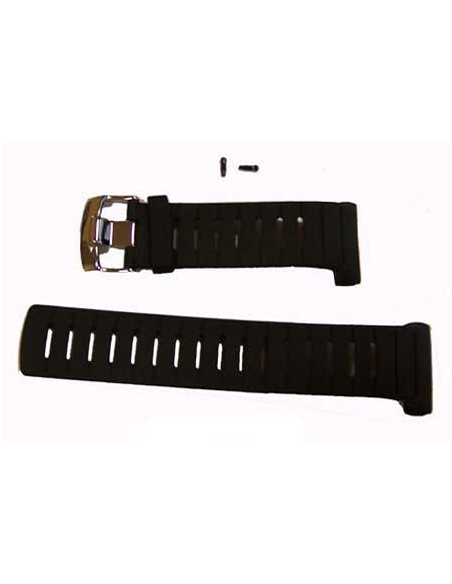 Suunto D6i All-Black ELASTOMER strap kit