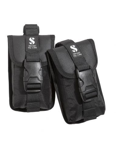 Scubapro Go Trim Pocket Kit, Black