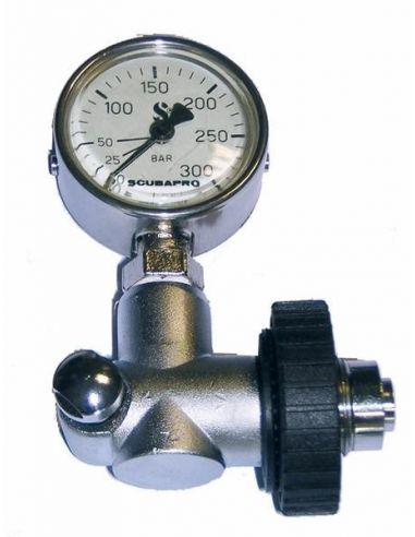 ScubaPro surface pressure gauge DIN 200