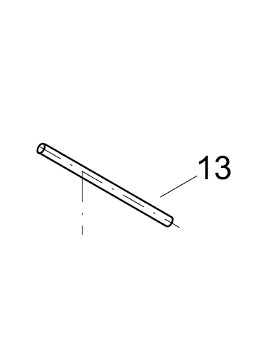 ScubaPro Exhaust Tee Assembly Pin