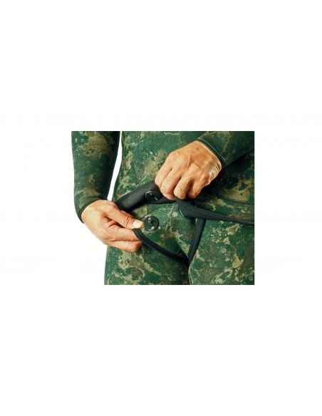 Mares Instinct Camo Green Jacket 70+ Long John 55 wetsuit