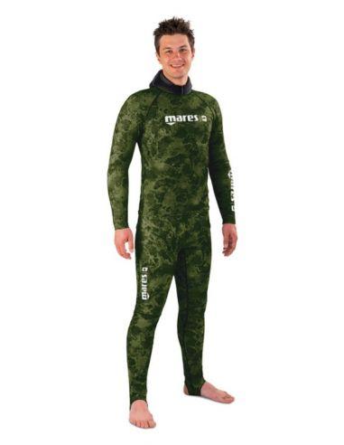 Mares Rash Guard Camo Green wetsuit