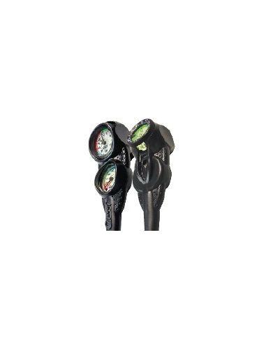 Cressi console 3 compass + depth gauge+pressure gauge